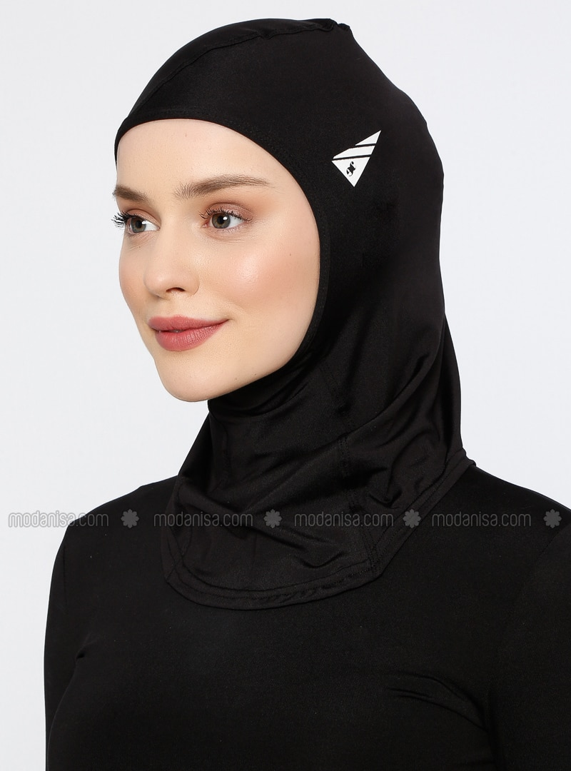 Black - Plain - Simple - Bonnet