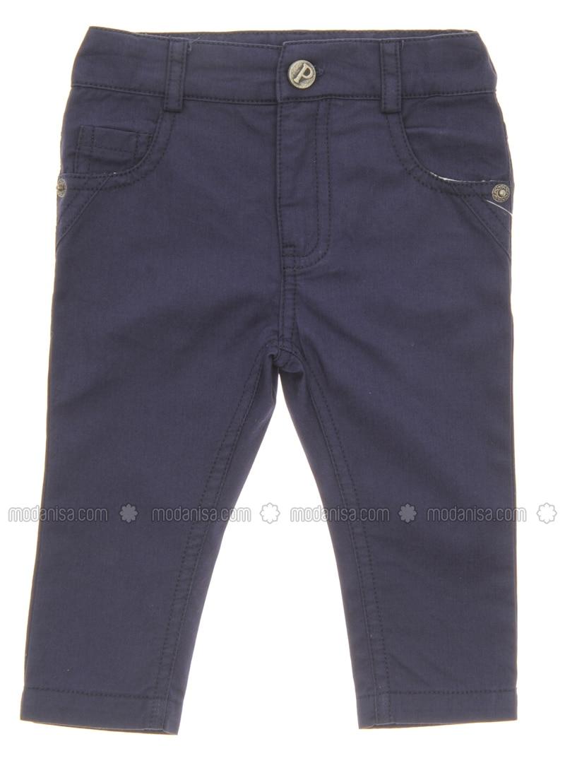 - Navy Blue - Baby Pants