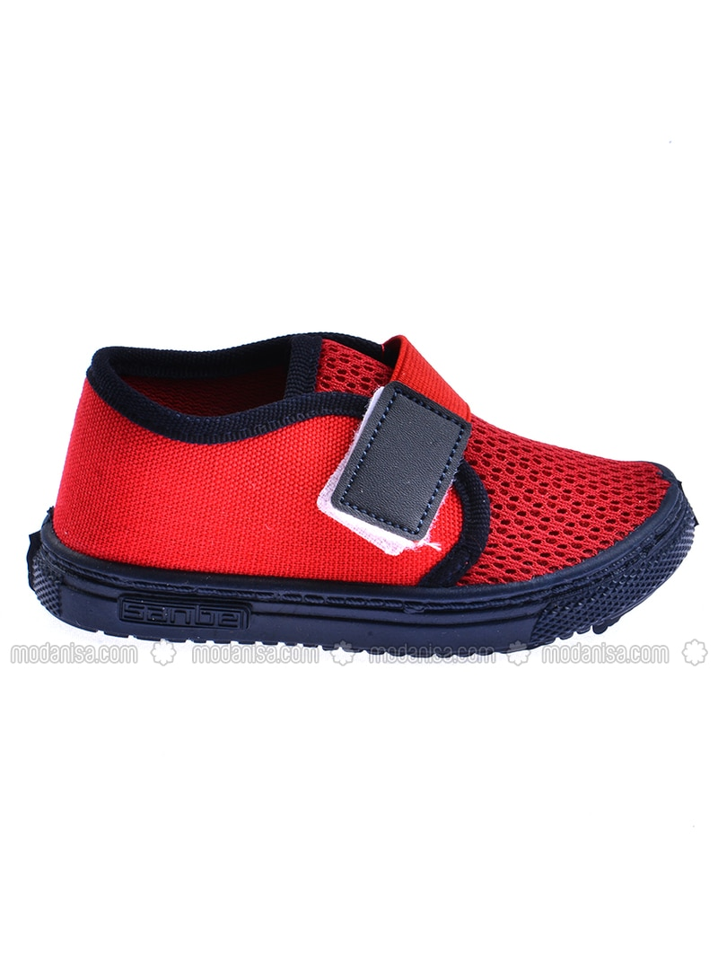 Red - Boys` Sandals