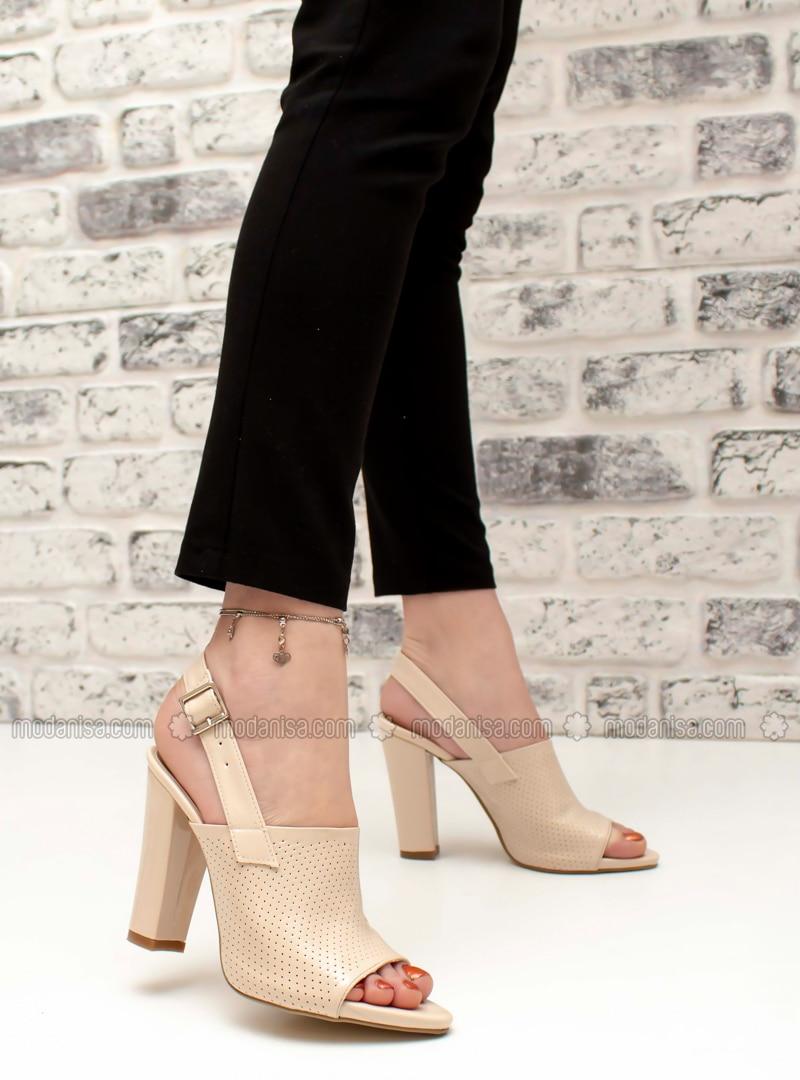 Beige - High Heel - Heels
