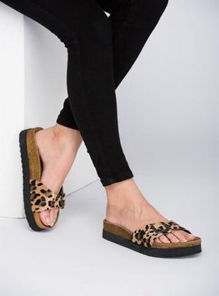 Leopard - Sandal - Slippers