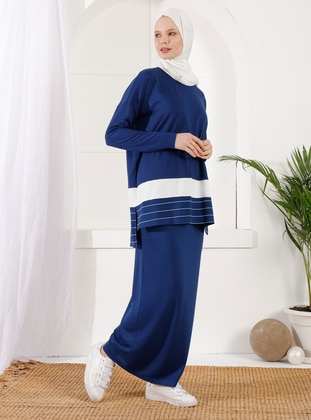 Indigo - Viscose - Suit