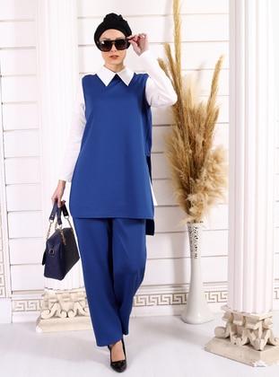 Saxe - Unlined -  - Viscose - Suit
