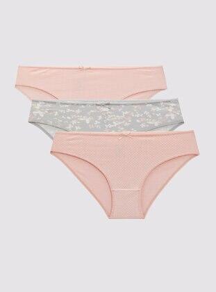 Pink - Panties - DeFacto