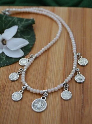 Beige - Necklace
