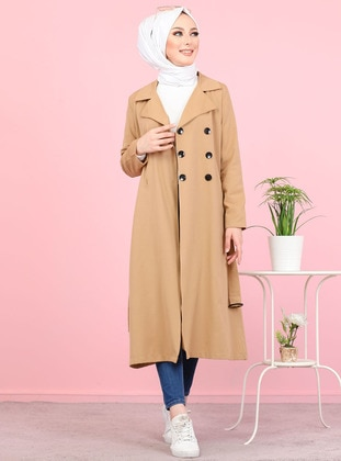 Mink - Unlined - Point Collar -  - Topcoat - Tofisa