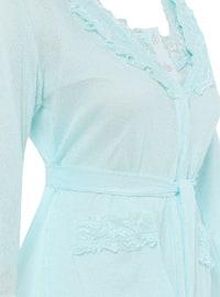 Sea-green - Modal -  - Combed Cotton - Maternity Pyjamas