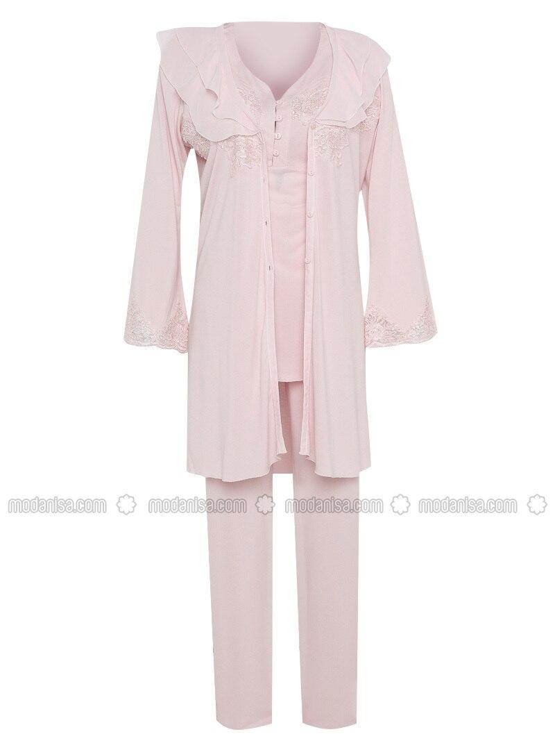 Powder - Modal -  - Combed Cotton - Maternity Pyjamas