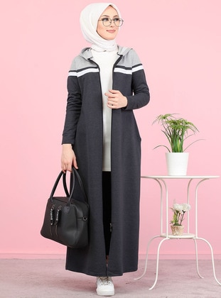 Anthracite - Gray -  - Tracksuit Top -  Sports