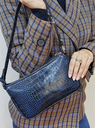 Navy Blue - Satchel - Shoulder Bags