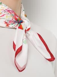 White - Maroon - Neckerchief