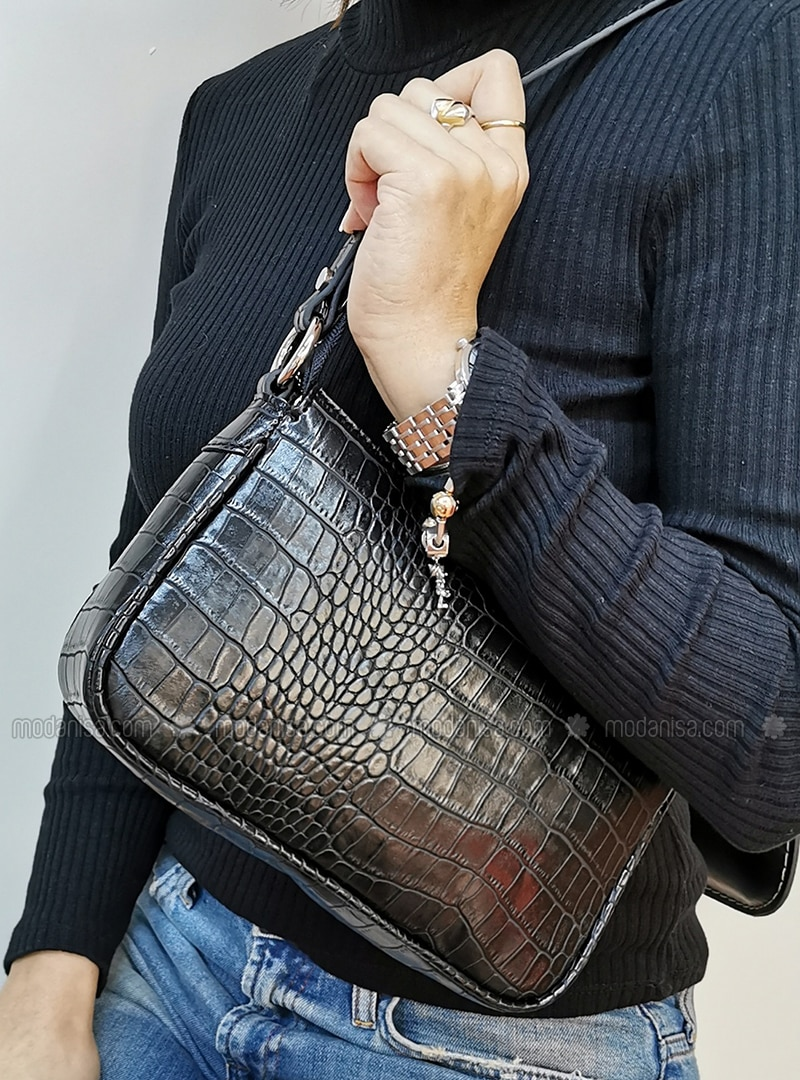 Black - Satchel - Shoulder Bags