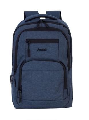Blue - Backpack - School Bags - GNC DESIGN