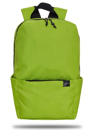 Green - Backpack - Backpacks