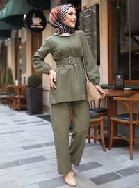 Khaki - - Suit