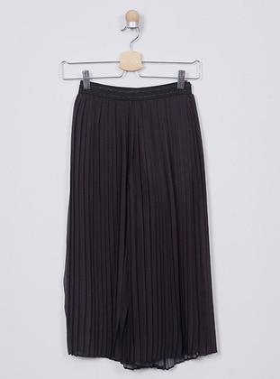 - Unlined - Black - Girls` Pants