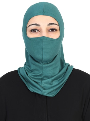 Green - Simple - Combed Cotton - Bonnet
