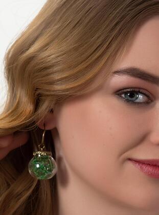 Green - Earring - Modex
