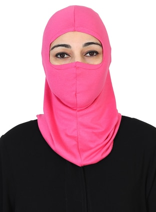 Fuchsia - Simple - Combed Cotton - Bonnet