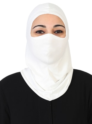 Cream - Simple - Combed Cotton - Bonnet