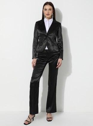 Black - Stripe - Suit