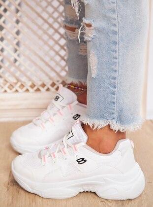White - Sport - Sports Shoes - Ayakkabı Havuzu