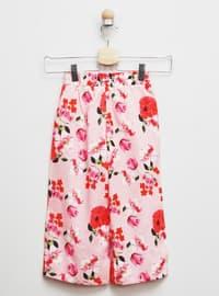 Multi - - Pink - Girls` Pants