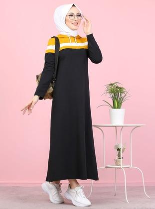 Mustard - Unlined -  - Dress