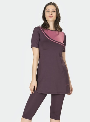 Plum - Half Covered Switsuits