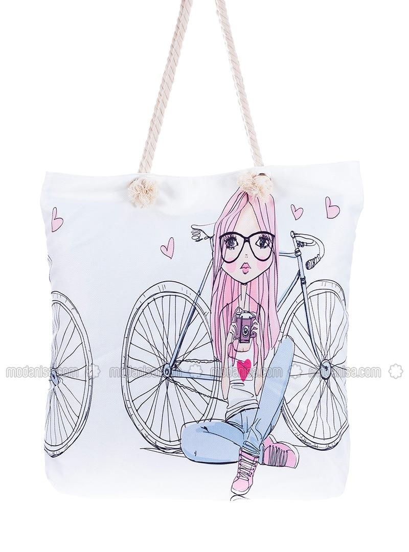 Satchel - Ecru - Beach Bags