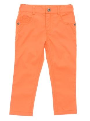 - Orange - Boys` Pants