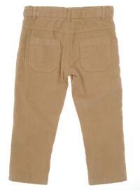 - Unlined - Beige - Boys` Pants