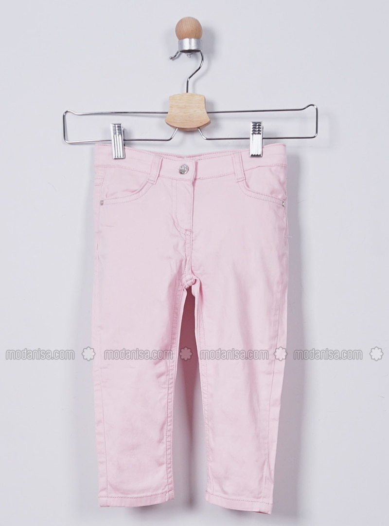 - Unlined - Pink - Girls` Pants