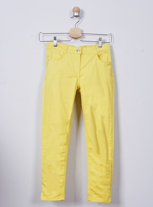 - Yellow - Girls` Pants