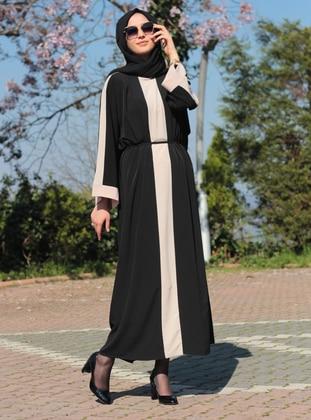 Black - Mink - Unlined - Dress