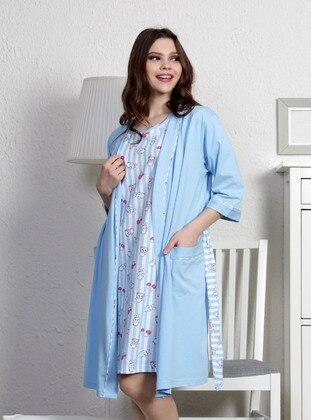 Blue - Morning Robe