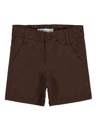 Brown - Boys` Shorts