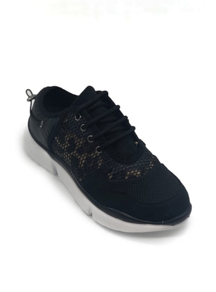 Leopard - Black - Sport - Sports Shoes