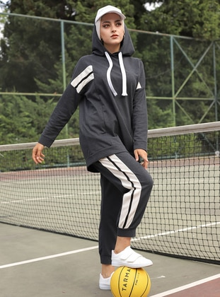 Anthracite - Unlined -  - Suit - Tofisa Sports