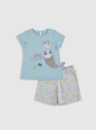 Blue - Girls` Pyjamas