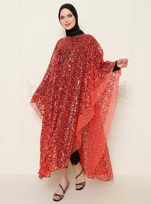 Coral - Evening Abaya