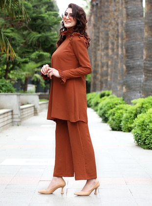 Orange - Viscose - Suit