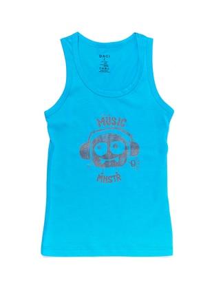 Turquoise -  - Undershirt
