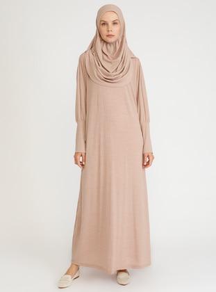 Beige - Unlined - Viscose - Prayer Clothes