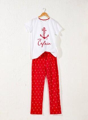 Red - Pyjama - LC WAIKIKI