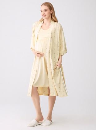 Yellow - Modal -  - Morning Robe