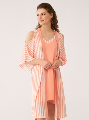 Salmon - Modal -  - Morning Robe
