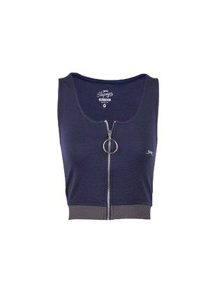 Navy Blue - T-Shirt - Slazenger