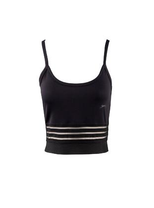 Black - T-Shirt - Slazenger