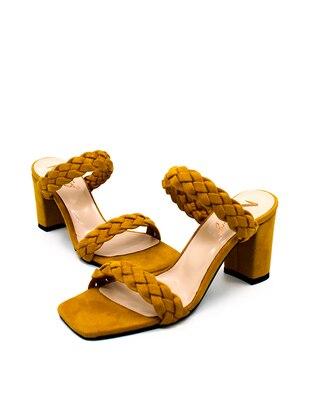 Mustard - Sandal - High Heel - Sandal
